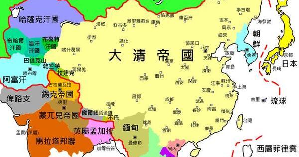 《中國歷史地圖大圖鑑》