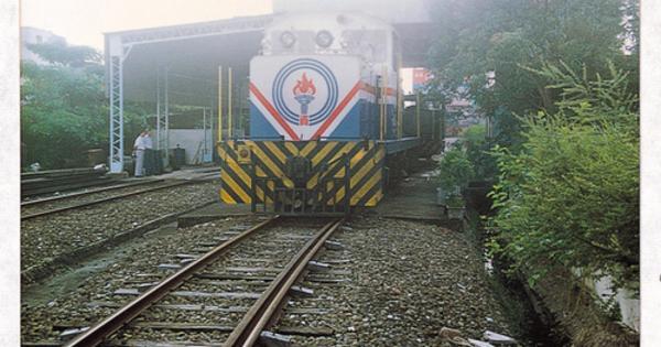 鐵道散文』 我家後面有火車@ 蘇...
